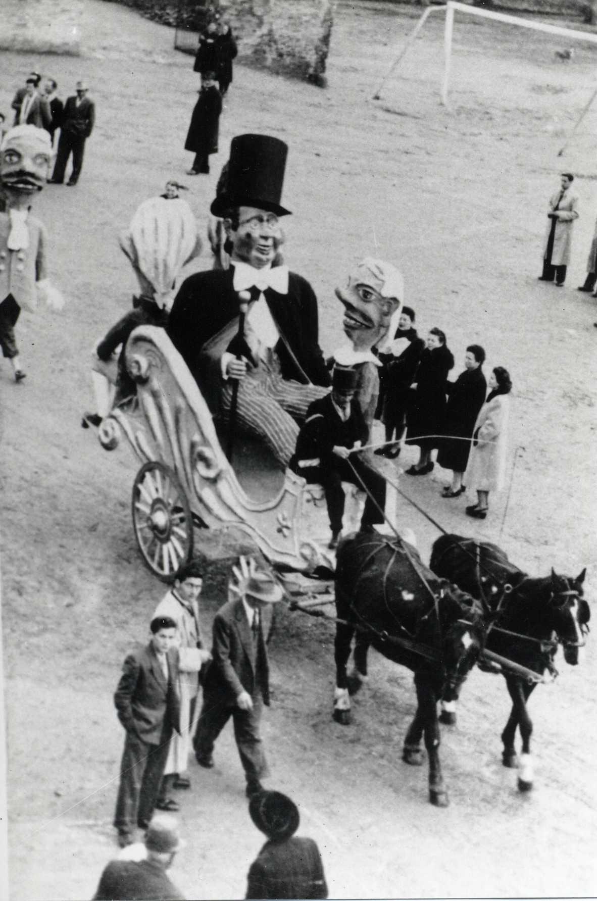 1955 - I CARRI NON VENGONO COSTRUITI A CAUSA DELLA CRISI NEI CANTIERI