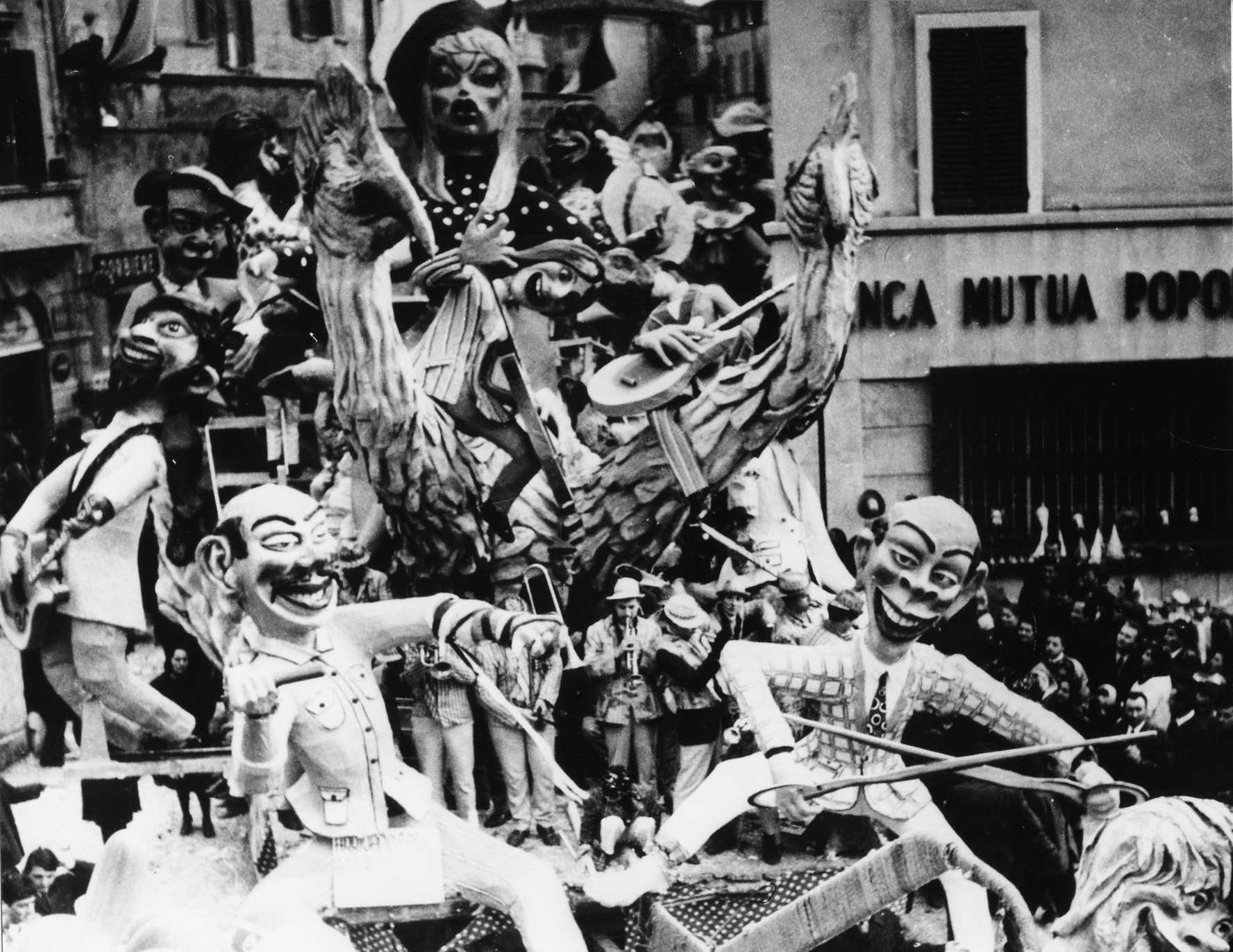 ARRIVANO I BEATS... AZIONE DI RIGETTO CHIANINO-1968